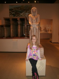The McClung Museum is fun! Photo by Tammy Sarver.