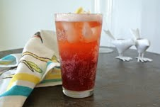 Blackberry-Ginger Shandy