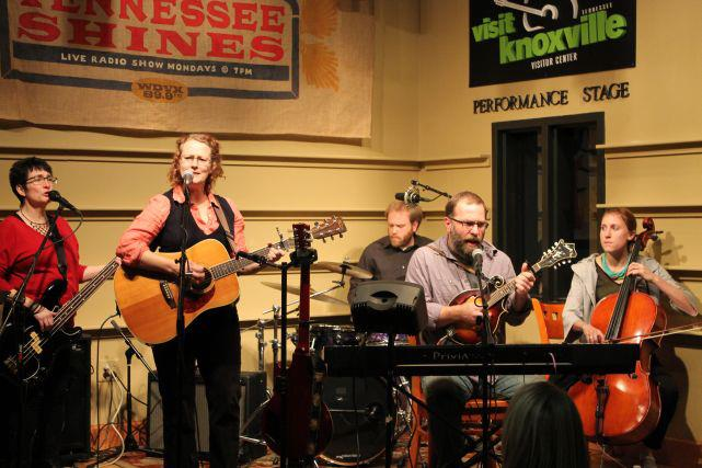 The Lonetones perform at WDVX's Tennessee Shines, and early evening series on Monday nights.