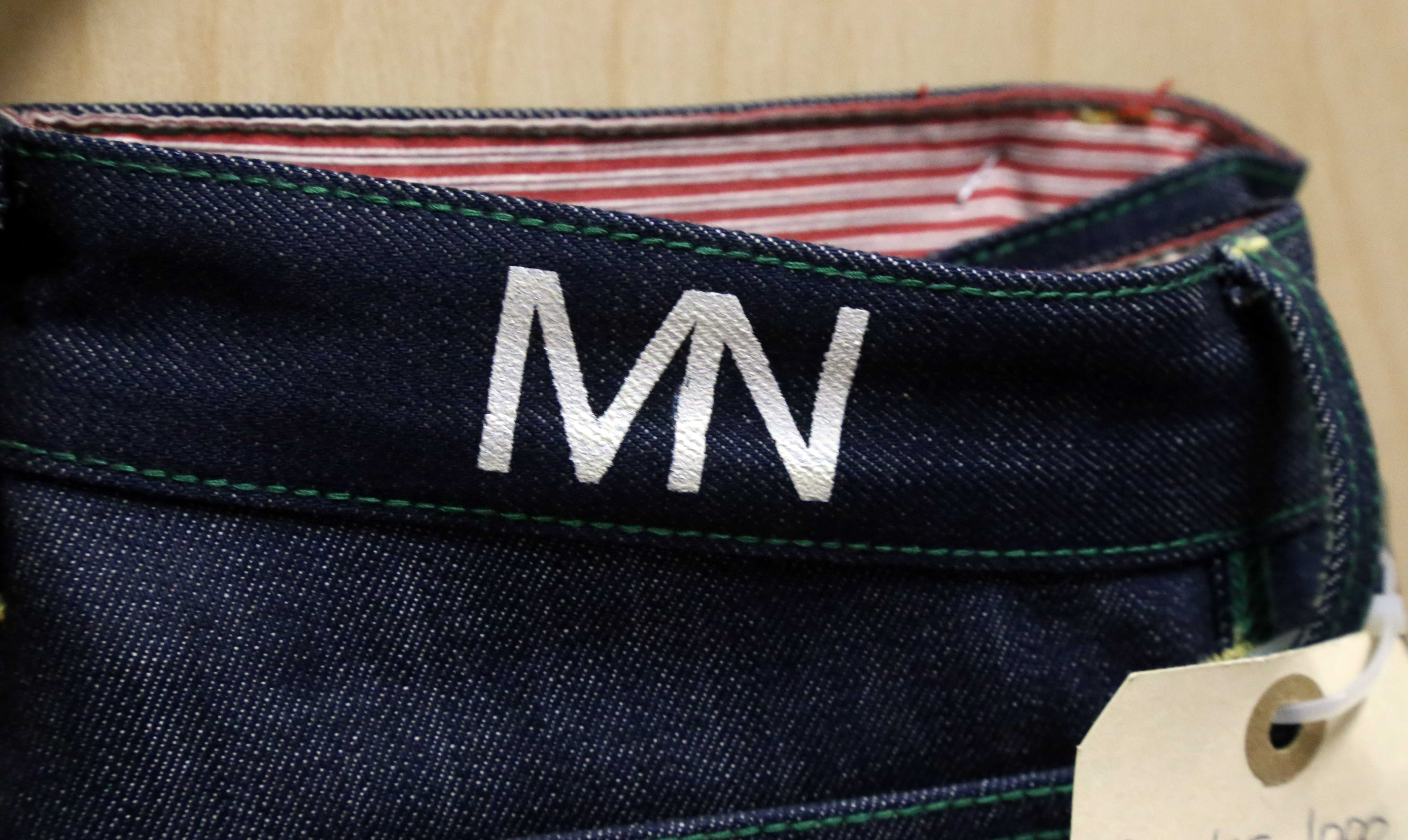MarcNelson logo on pant
