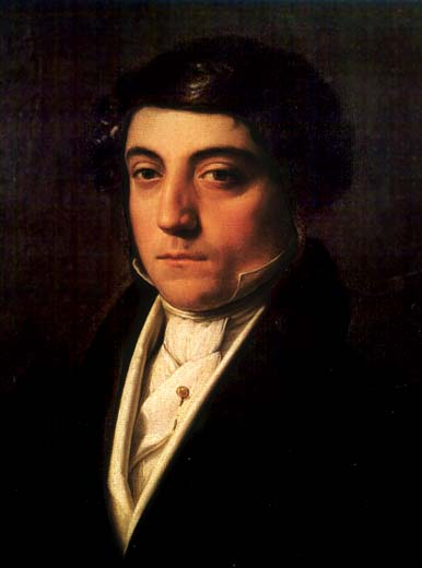 Gioachino Rossini by Vincenzo Camuccini.