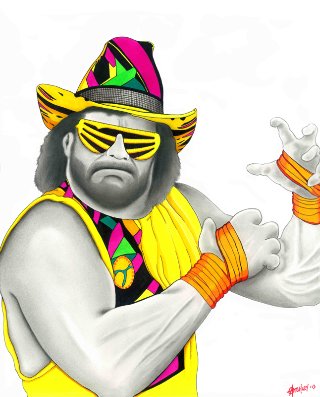 Macho Man by Matthew Atchley.