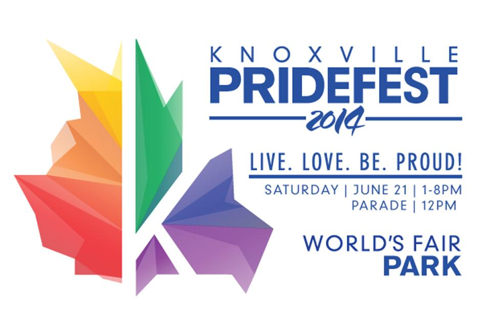 The 2014 Knoxville Pridefest parade will begin on Gay Street and end on Clinch. The festival will be held at World's Fair Park.