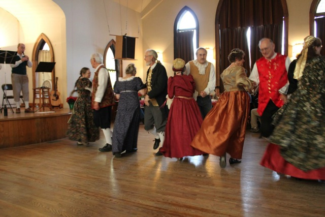 English Country Dancers' Christmas Fete.