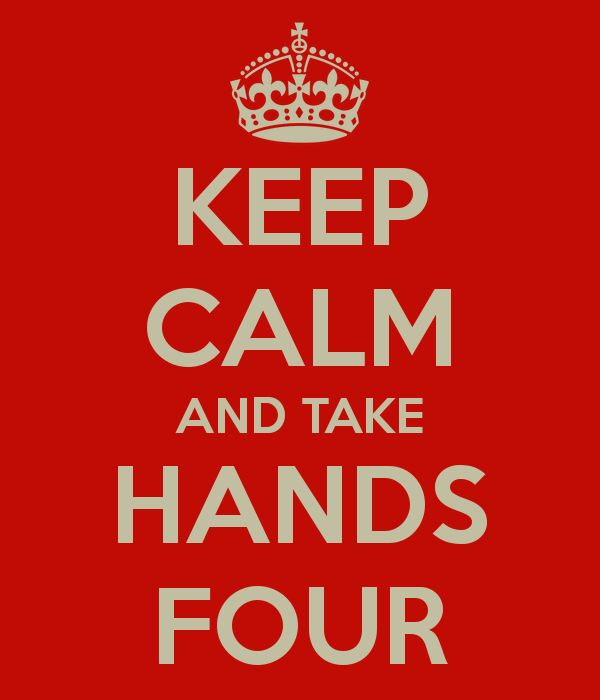 take hands four
