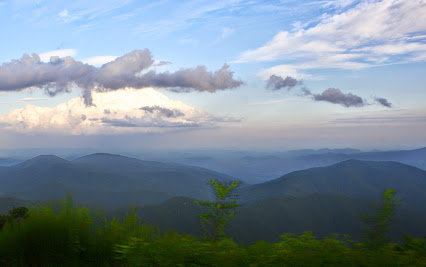 View from Blue Ridge Parkway.