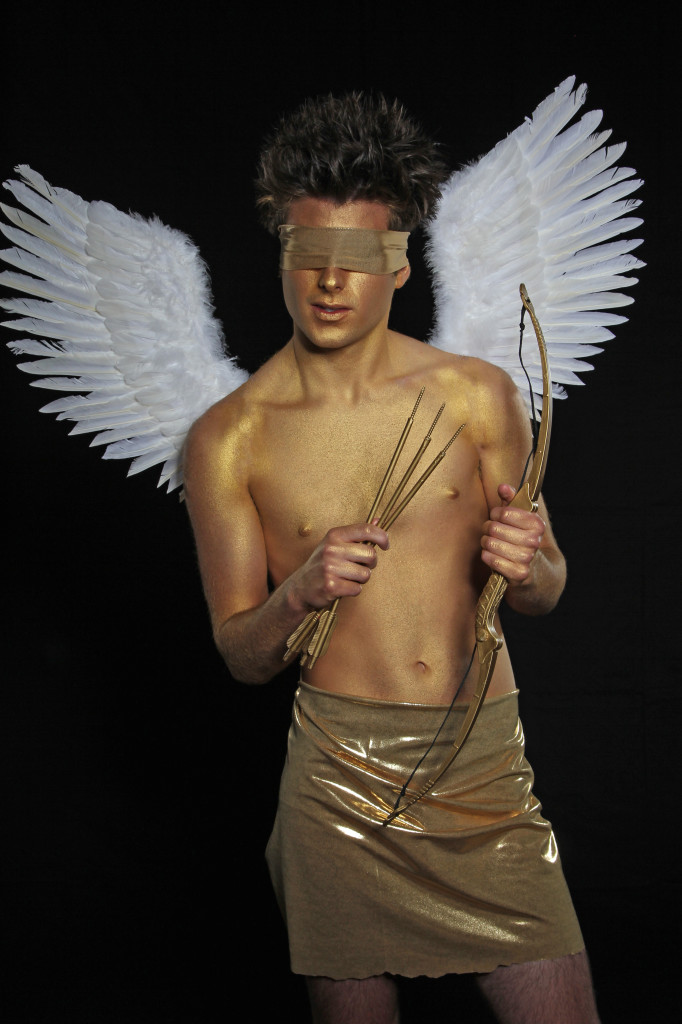 Eros, Winged God of Love with Drew Casteel. Fashion by
