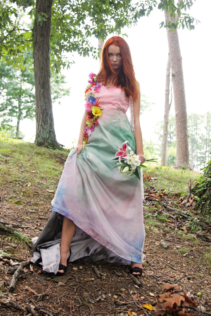 Persephone, Goddess of Spring & Innocence (Darian Harveston). Fashion by Shattered Stitch Cosplay.