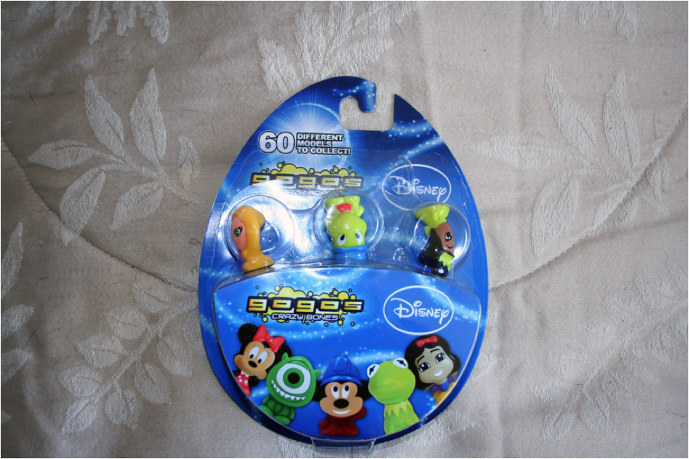 An extremely rare promotional pack that was considered, and later rejected, by Disney.