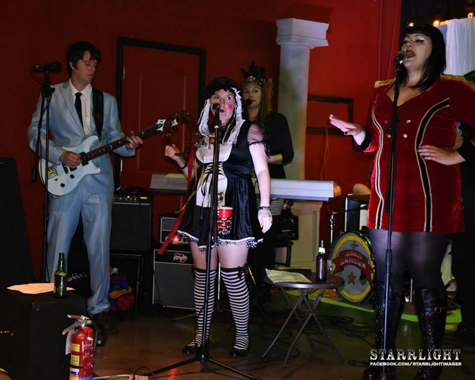 Sidecar Symposium performs at the 2014 Freaksheaux at The Edge. Photo by: Starrlight Images.