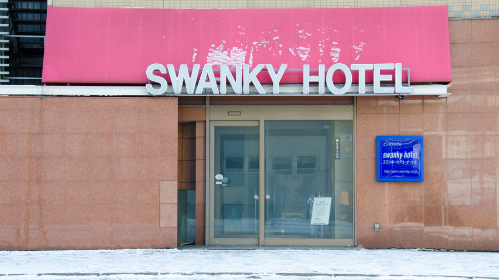 "I don't think they translated ""Swanky"" right."