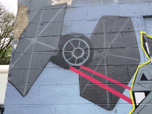Tie Fighter.