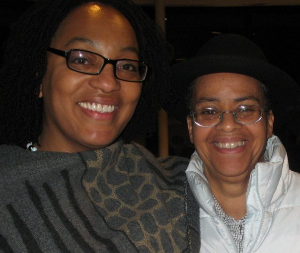 Miller with Linda Parris Bailey, founder of The Carpetbag Theatre.